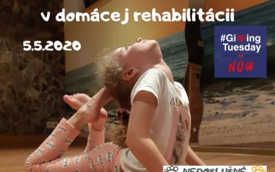 Podporte deti s DMO v domácej rehabilitácii